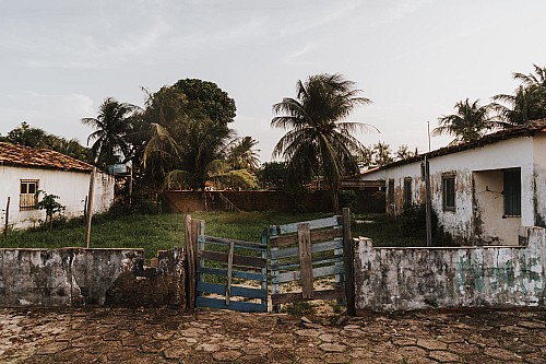 Kay Fochtmann - Brasilien - Marajo - palms - house - travel photography