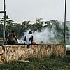 Kay Fochtmann - Brasilien - Marajo - smoke - people - travel photography