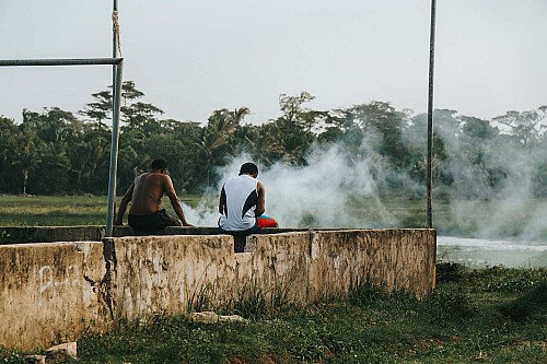 Kay Fochtmann - Brasilien - Marajo - smoke - people - travel photography