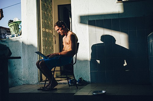 Kay Fochtmann - Brasilien - Rio de Janeiro - Mann - Portrait - lifestyle photography