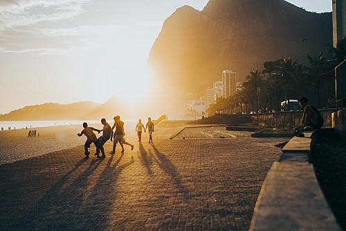 Kay Fochtmann - Brasilien - Rio de Janeiro - Strand - beach - soccer - Fußball - travel photography