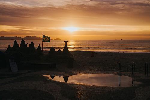 Kay Fochtmann - Brasilien - Rio de Janeiro - sunrise - cristo - beach - travel photography