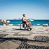 Kay Fochtmann - Brasilien - Rio de Janeiro - wheelchair - beach - tanning - travel photography