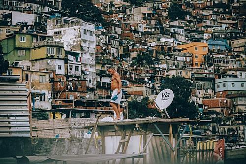 Kay Fochtmann - Brasilien - Rocinha - Rio de Janeiro - Favela - worker - travel photography