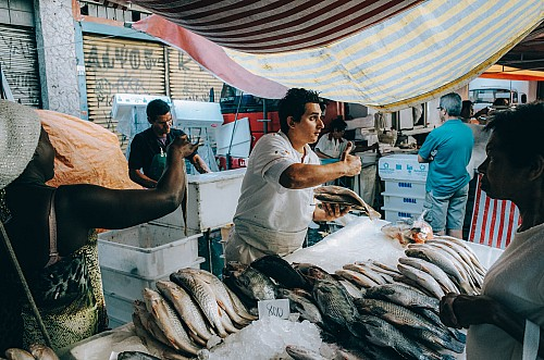 Kay Fochtmann - Brasilien - Sao Paulo - market - vendor - travel photography