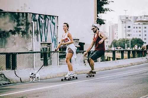 Kay Fochtmann - Brasilien - Sao Paulo - skater - couple - lifestyle photography