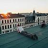 Kay Fochtmann - Deutschland - Leipzig - rooftop - lifestyle photography