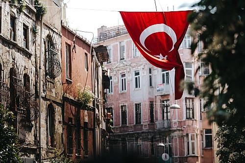 Kay Fochtmann - Istanbul - Türkei - Flagge - flag - travel photography