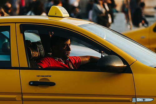 Kay Fochtmann - Istanbul - Türkei - Taxi - sunset - travel photograhphy