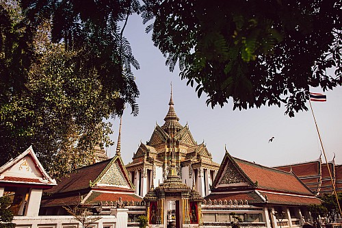 Kay Fochtmann - Thailand - Bangkok - Wat Pho - buddhism - travel photography