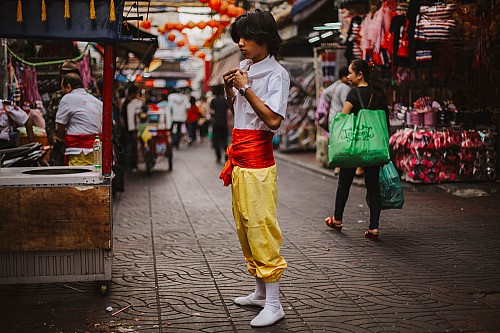 Kay Fochtmann - Thailand - Bangkok - child - people - travel photography
