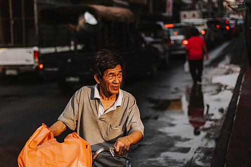 Kay Fochtmann - Thailand - Bangkok - man - Mann - people - travel photography