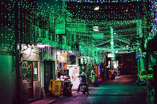 Kay Fochtmann - Thailand - Bangkok - night - lights - travel photography