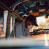 Kay Fochtmann - Thailand - Bangkok - sunset - worker - tuktuk - travel photography