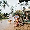 Kay Fochtmann - Thailand - children - bike - travel photography