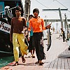 Kay Fochtmann - Thailand - boys - fisher - fish - travel photography