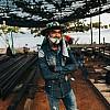Kay Fochtmann - Thailand - construction - worker - portrait - travel photography