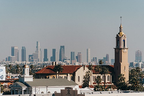 Kay Fochtmann - USA - Los Angeles - Skyline - travel photography
