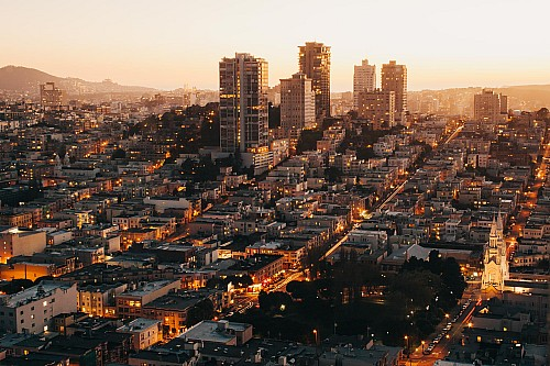 Kay Fochtmann - USA - San Francisco - Skyline - travel photography