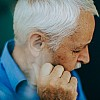 Kay Fochtmann - old man - thinking - Life - age - lifestyle photography