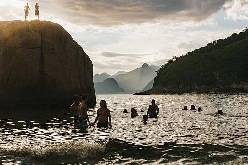 Kay Fochtmann - Brasilien - Rio de Janeiro - sunset - Piratininga - beach - travel