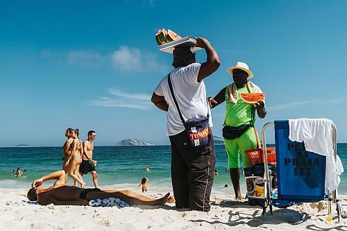 Kay Fochtmann - Brasilien - Rio de Janeiro - vendor - beach - photography