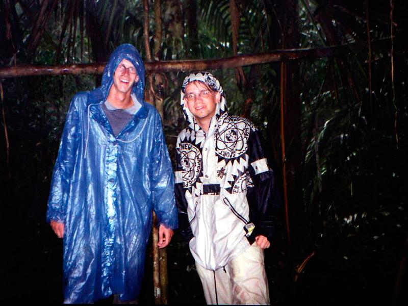 Im Regenwald. Er trägt seinen Namen eben doch zurecht - Beweis #2